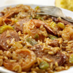 Creole Style Shrimp and Sausage Jambalaya
