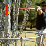 man playing disc golf outside | disc golf in Manassas